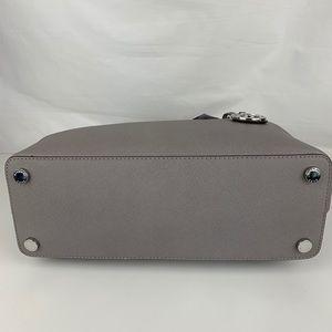 Michael Kors Bags - New Michael Kors Savannah Gray Leather Satchel
